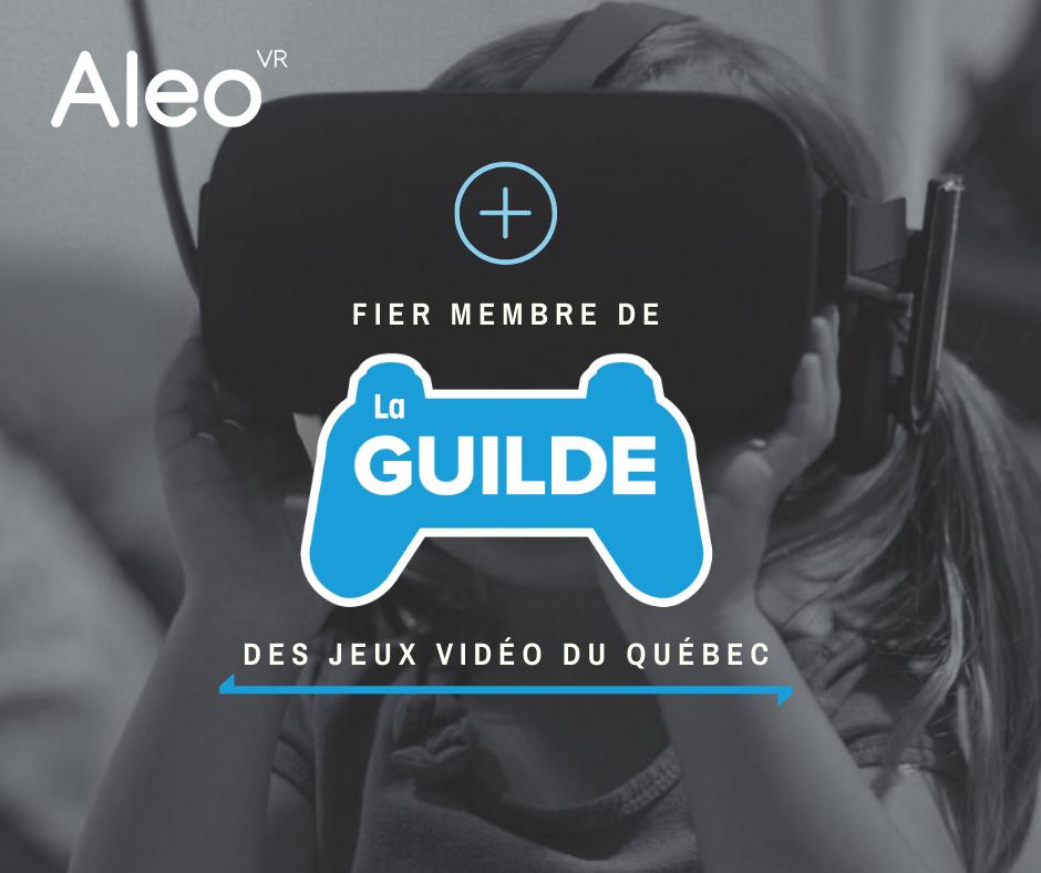 Aleo VR Annonce La Guilde